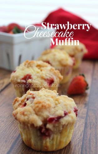 strawberry-cheesecake-muffin-