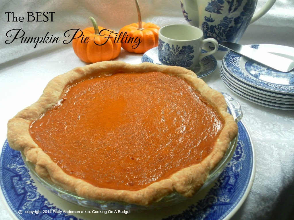 Best Pumpkin Pie Filling
