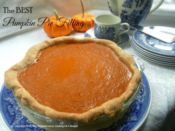 Best Pumpkin Pie Filling